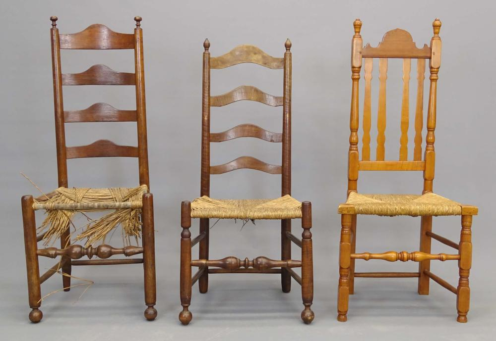 18th c. Chair Lot
