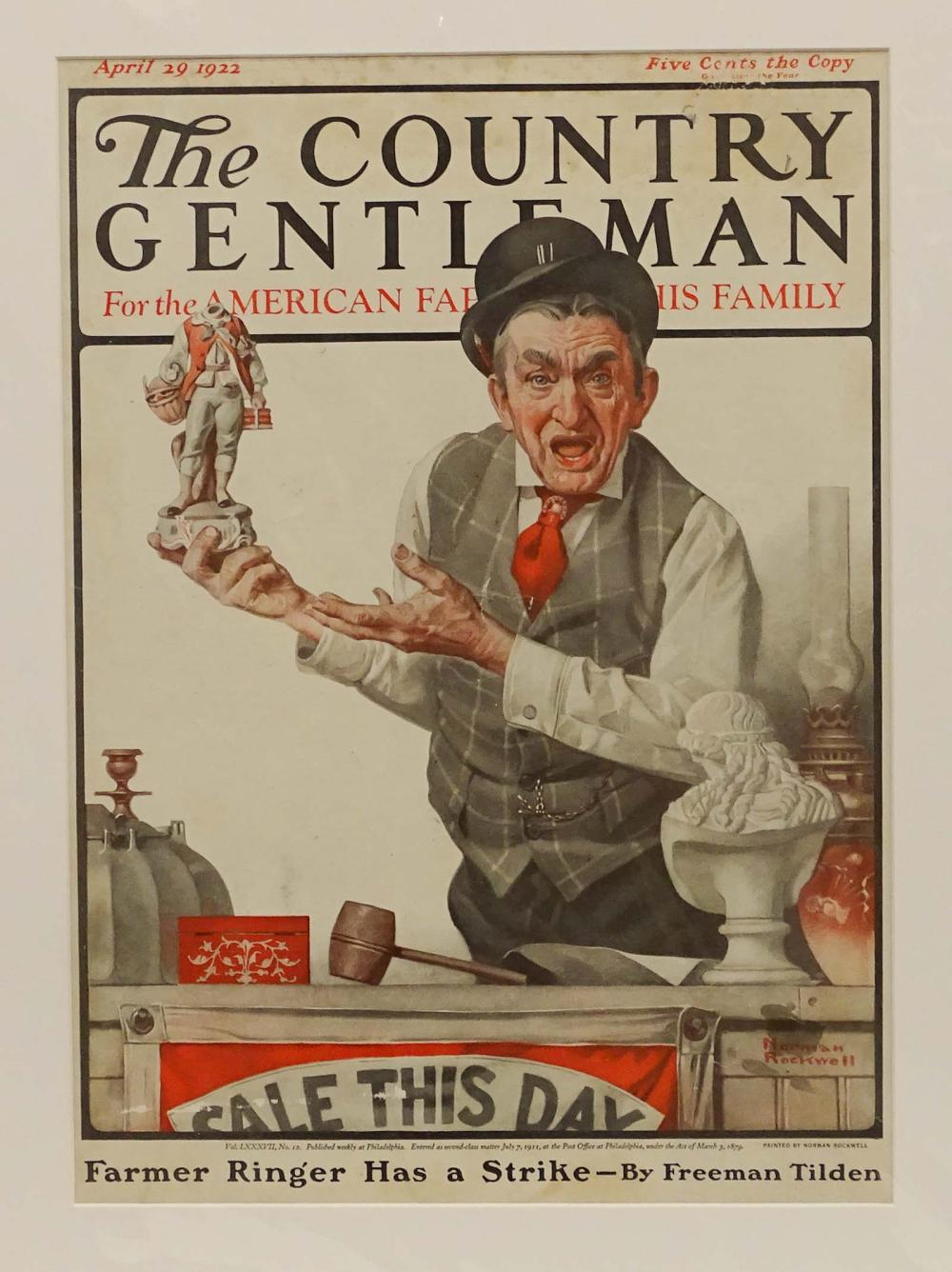 Norman Rockwell Cover Art Print