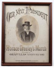 Horace Greeley Sheet Music