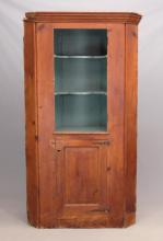 19th c. Corner Cupboard