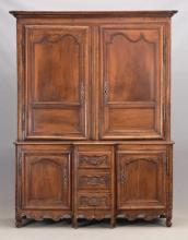 19th c. French Cupboard