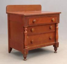 19th c. Empire Country Chest