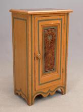 19th c. Cottage Commode