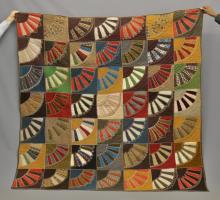 19th c. Crazy Quilt