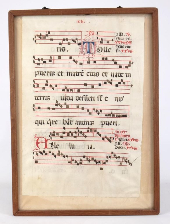 Early sheet music for Early house music