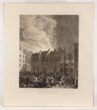 Print: Masonic Fire Hall, Philadelphia, 1819
