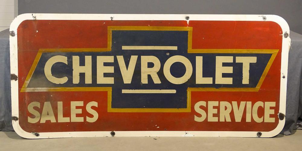 1949 Chevrolet Dealership Sign