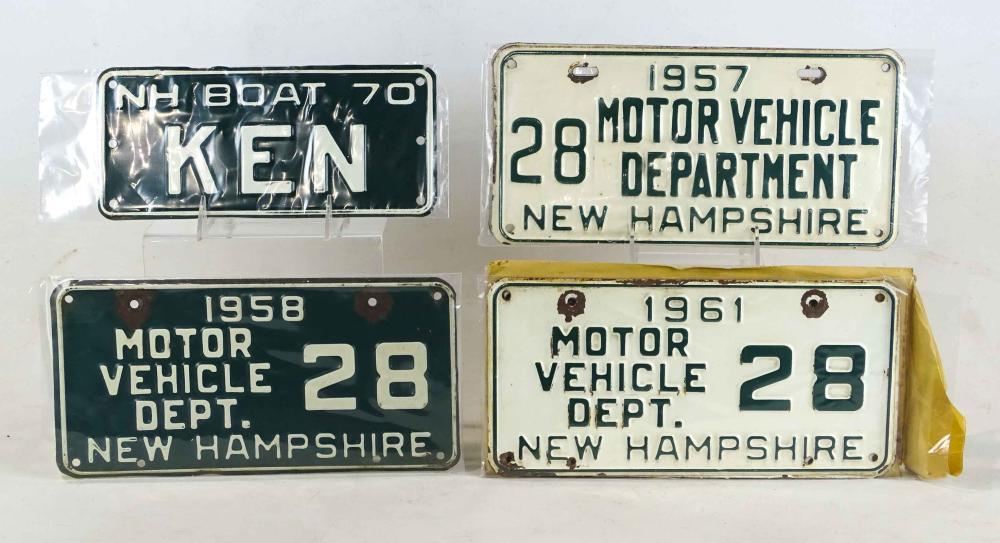 License Plates Lot
