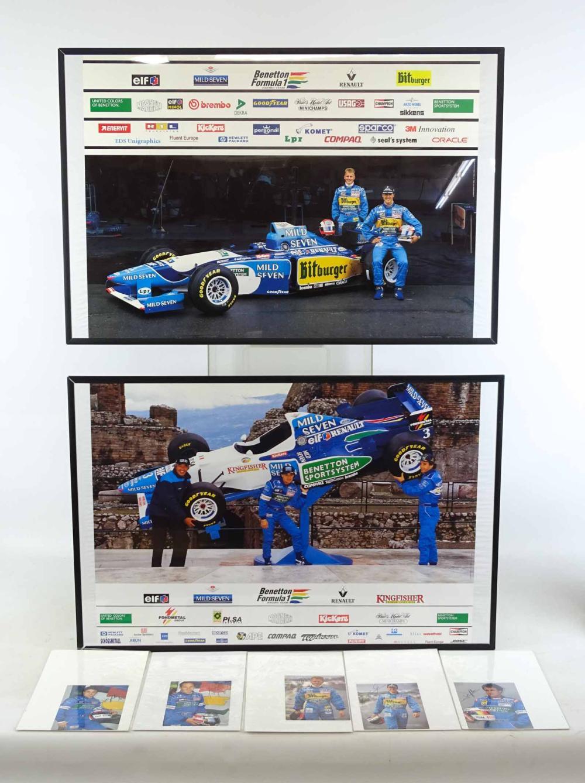 Framed Benneton Formula 1 Team Prints