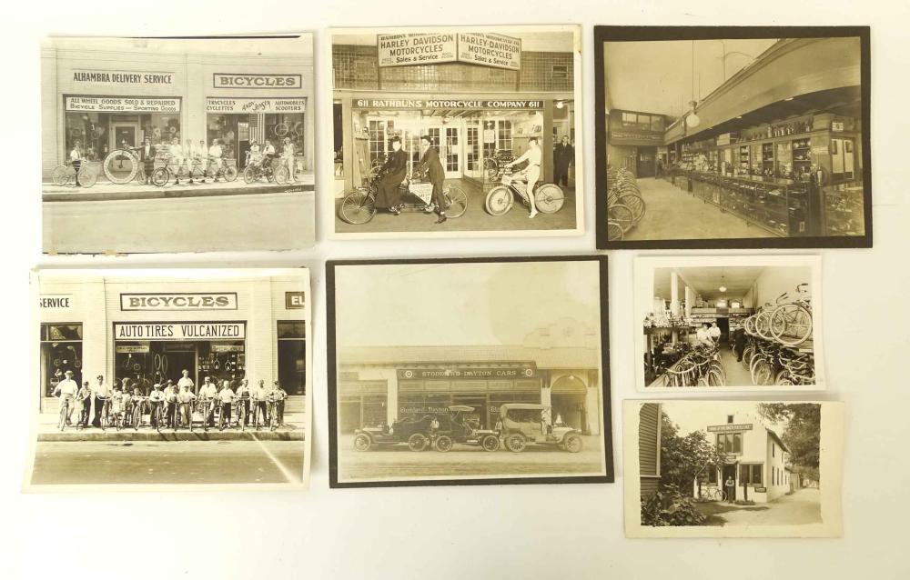 Bicycle Shop Photographs