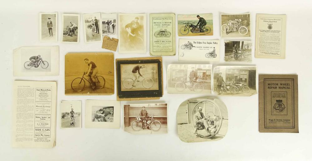 Bicycle & Motorcycle Lot