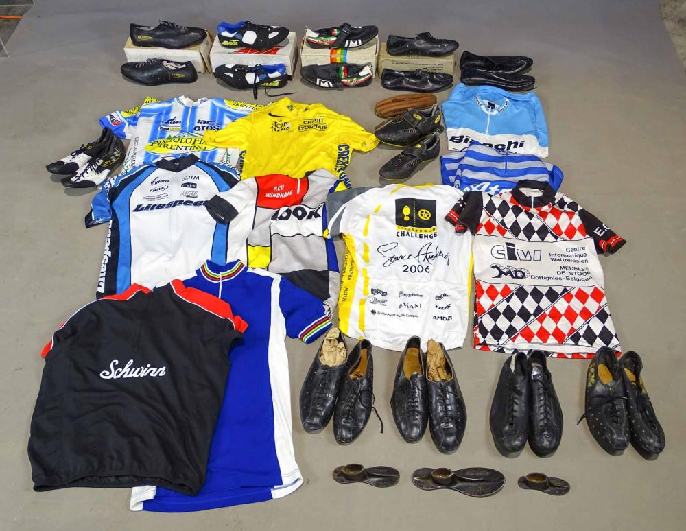 Bicycle Shoes & Jerseys