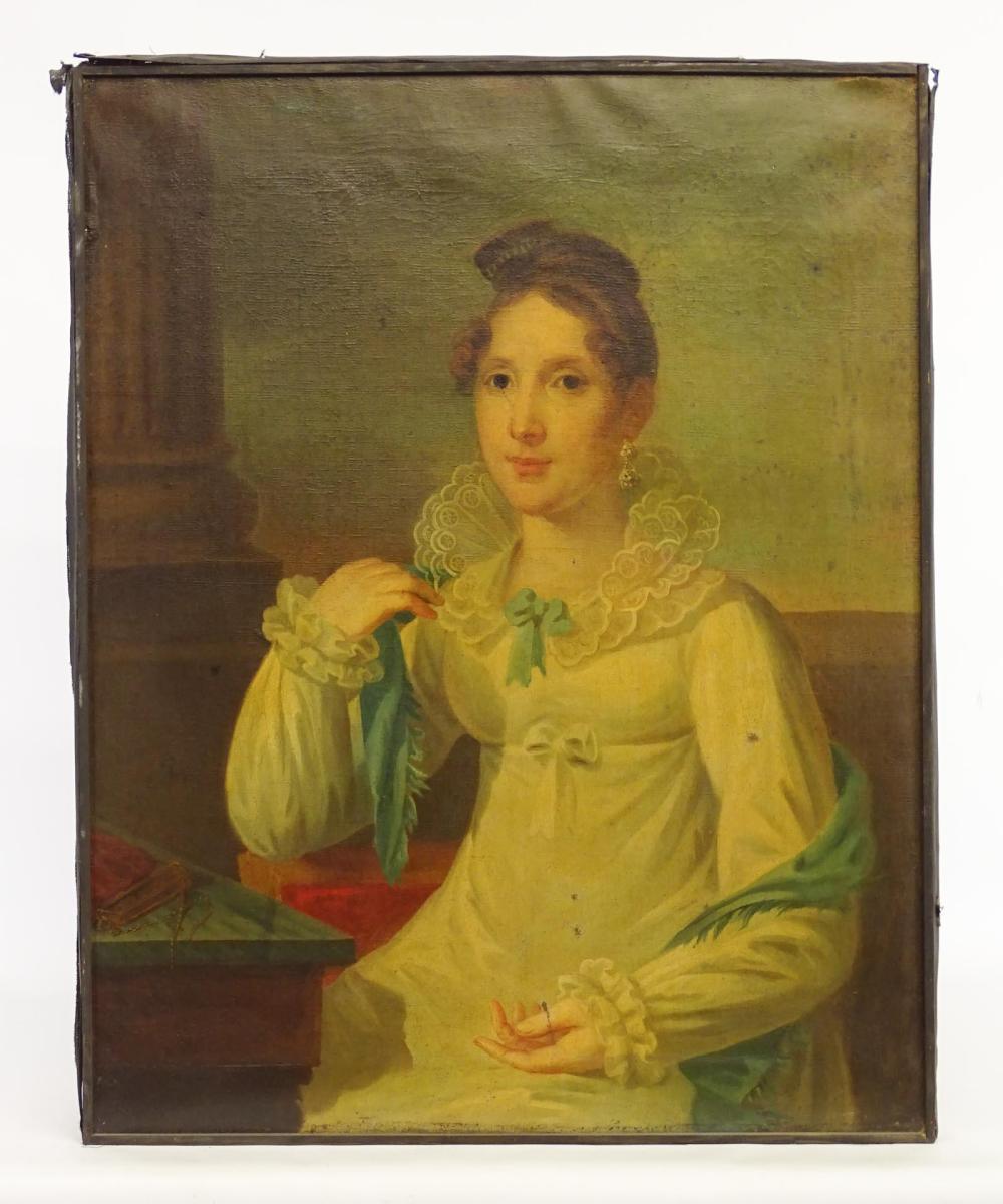 American School, Portrait Of Miss Dolly Sheperd
