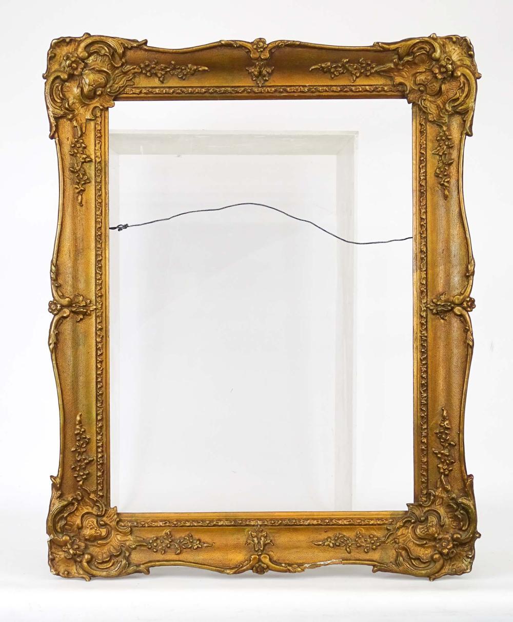 C. 1840 Gilded Plasterwork Frame