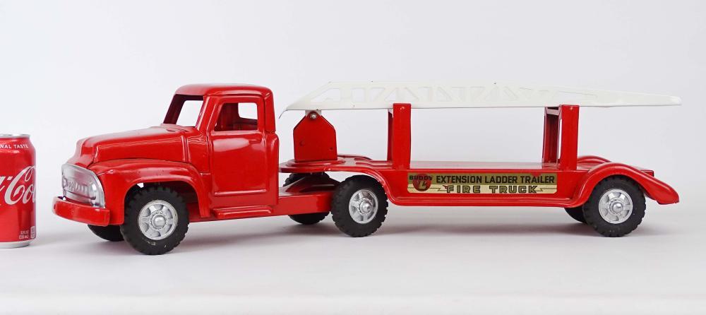 1956 Buddy L Extension Ladder Fire Truck