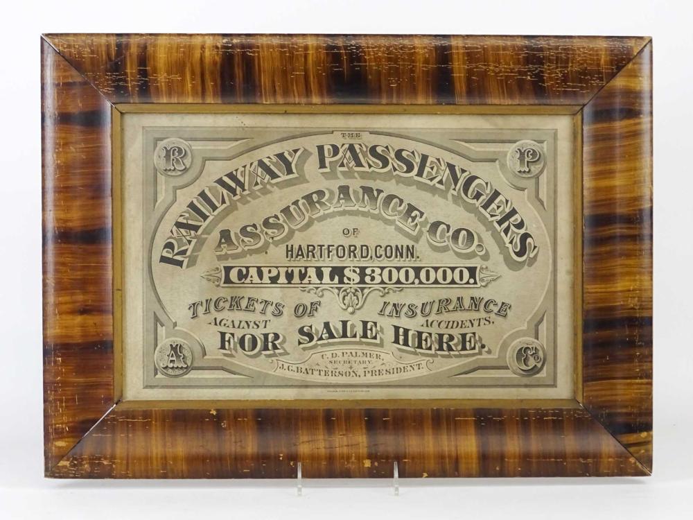 Railway Passengers Insurance Certificate