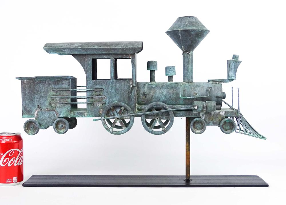 Train Weathervane