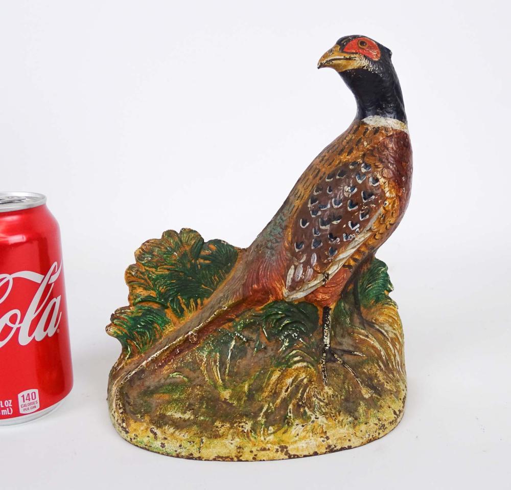 Pheasant Doorstop