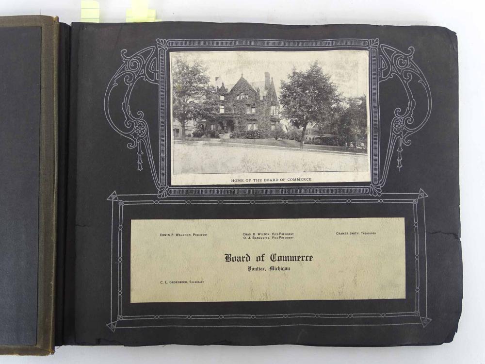 1911 Pontiac Michigan Postcard Album