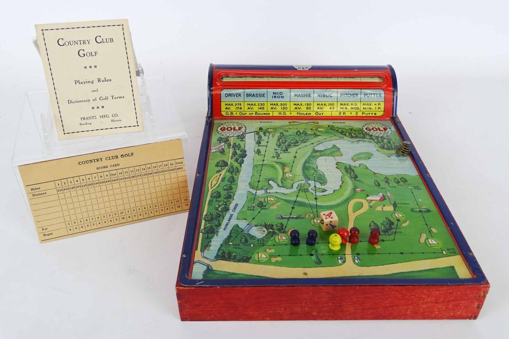 Tin Litho Golf Game