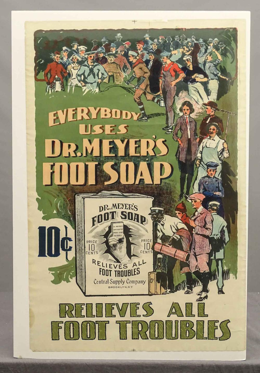 Early Advertising Poster