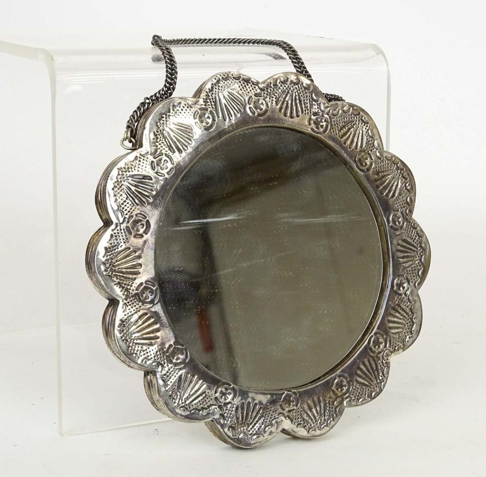 .900 Silver Turkish Wedding Mirror
