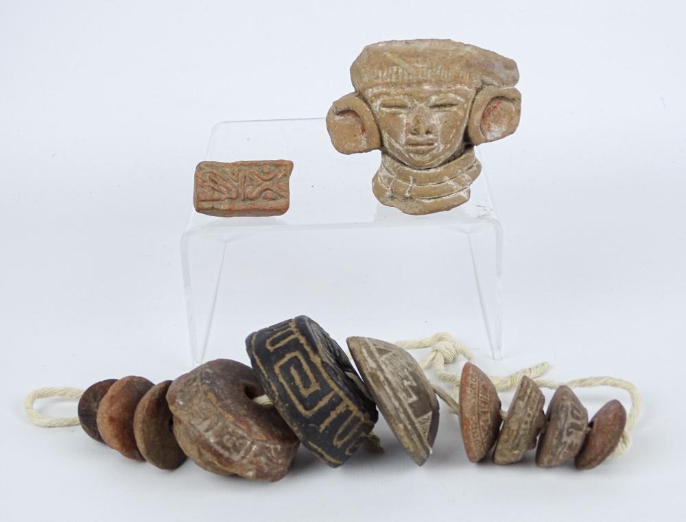 Pre Columbian Artifacts Circa 1100-1300