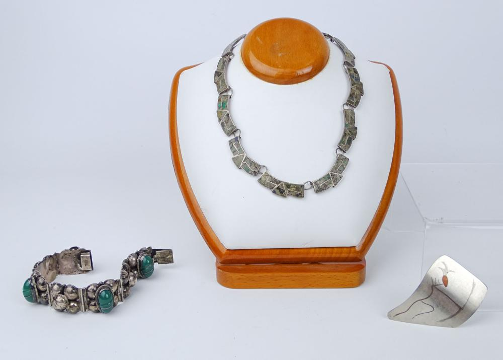 Lot of Mexican Silver Jewelry