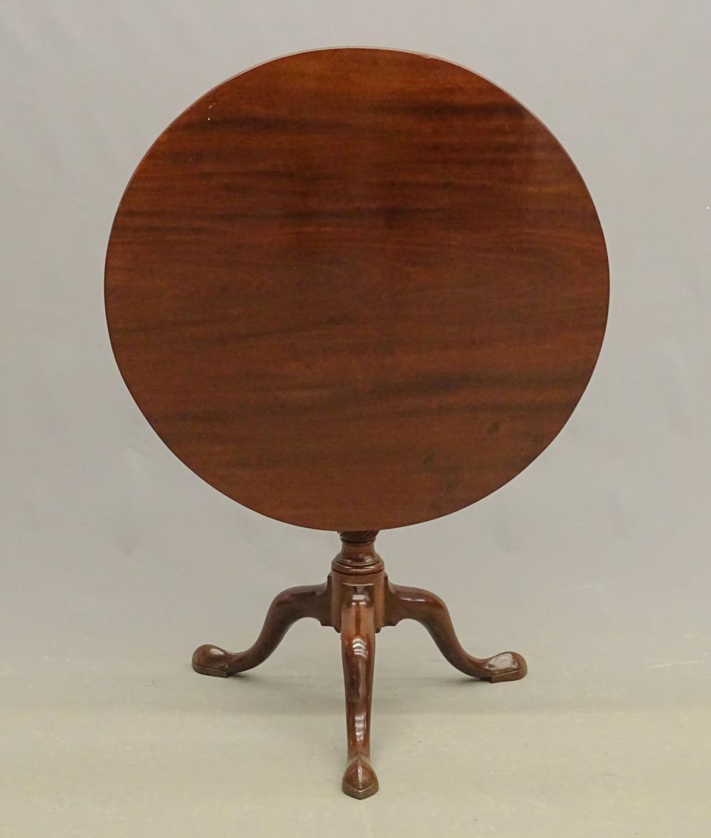 18th c. American Tilt Top Tea Table