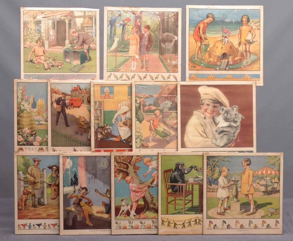 Children's Story Book Prints