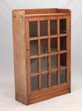 Arts & Crafts Style Oak Bookcase