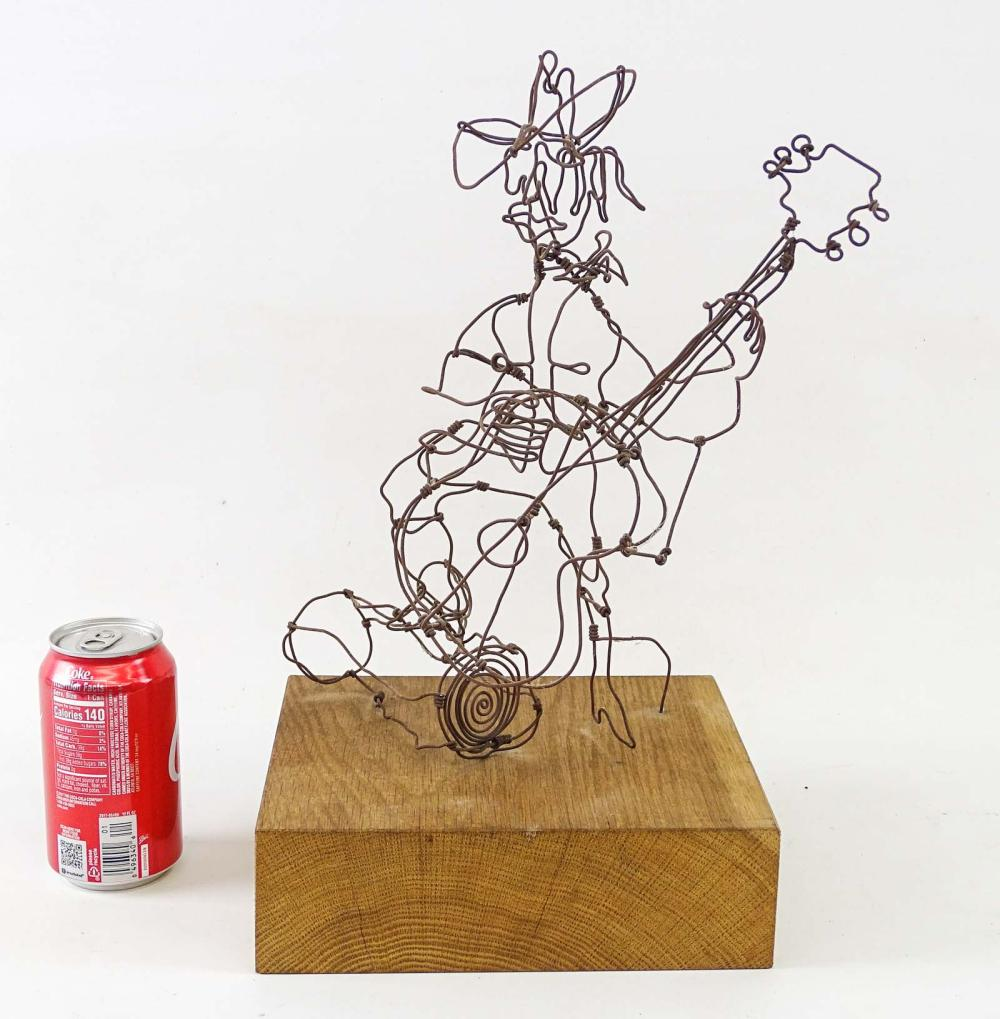 Mid Century Wire Sculpture