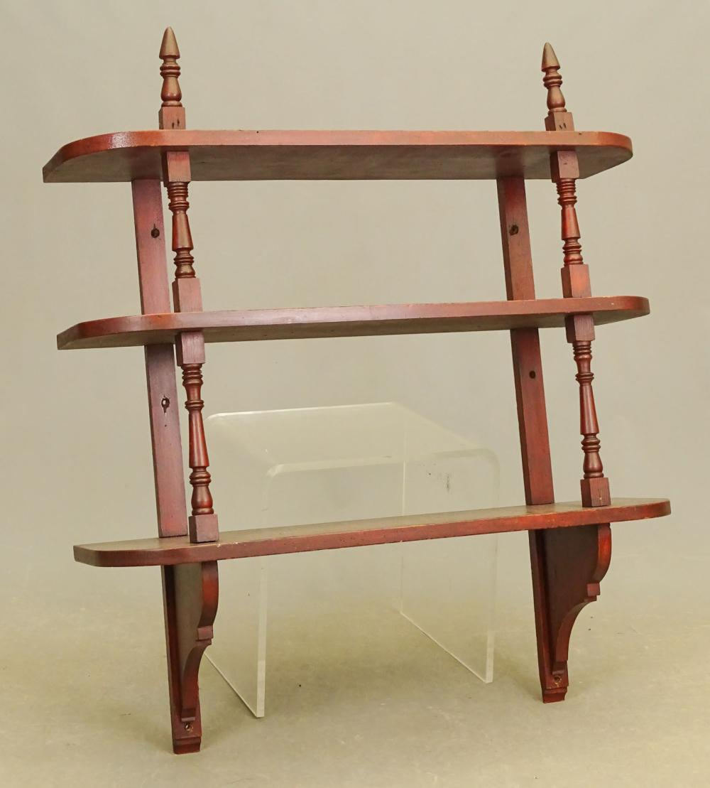 19th c. Hanging Shelf