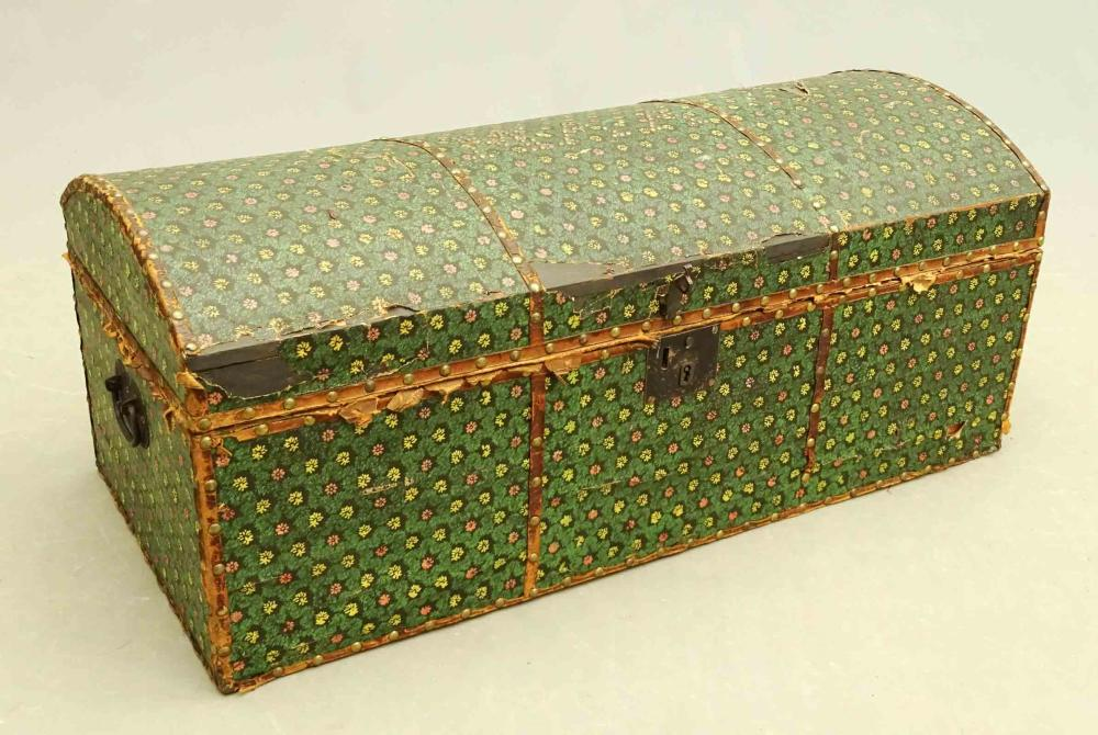 19th c. Wallpaper Trunk