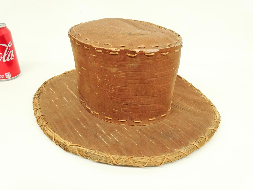 Northeast Woodlands Birch Bark Hat