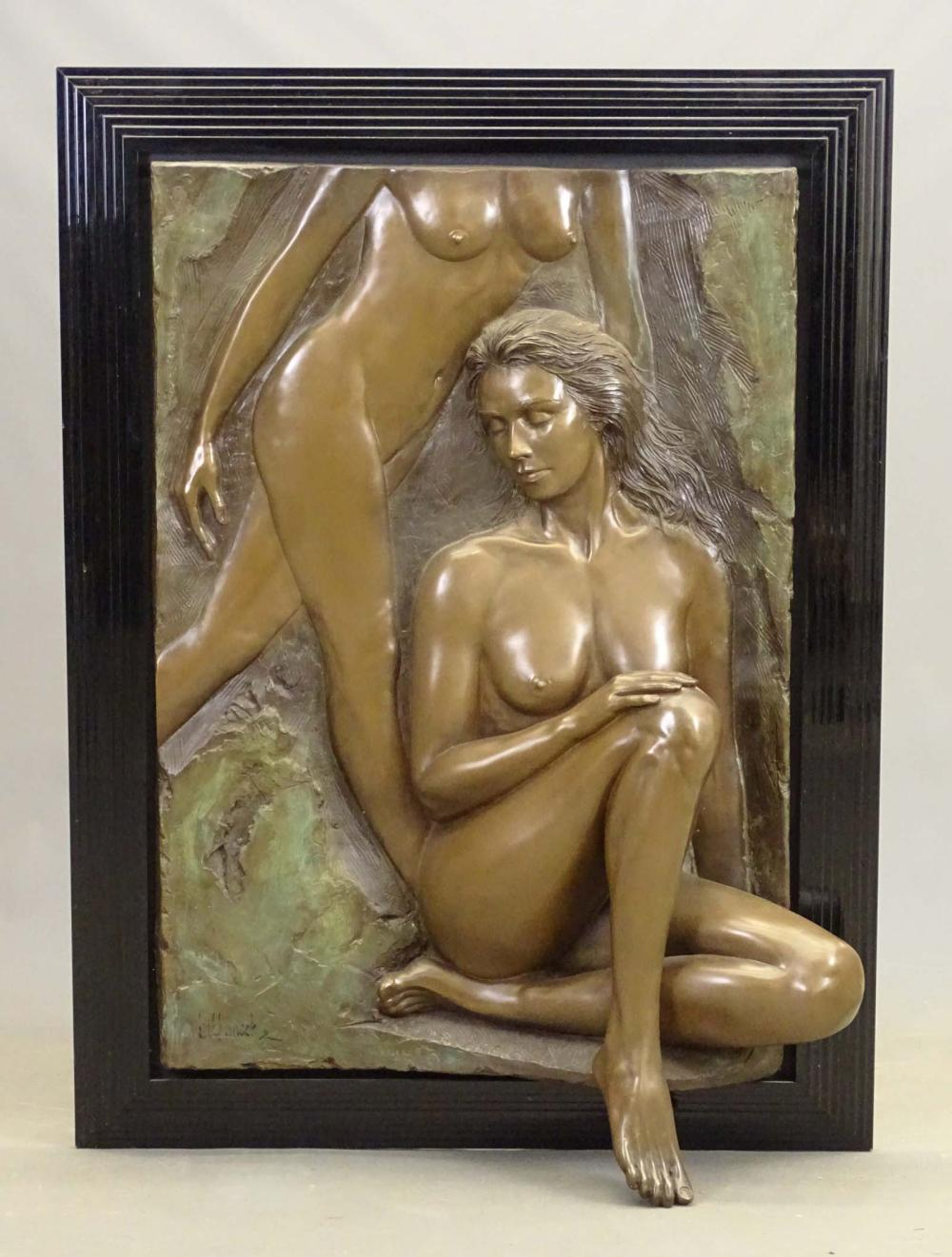 Bill Mack Bonded Bronze Sculpture