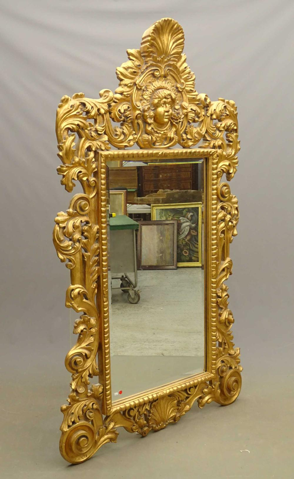 Massive Decorative Mirror