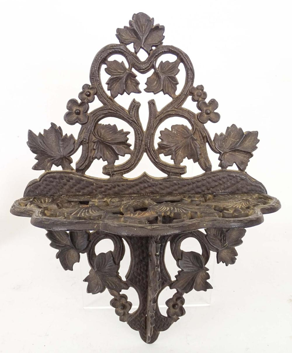 Cast Iron Wall Shelf