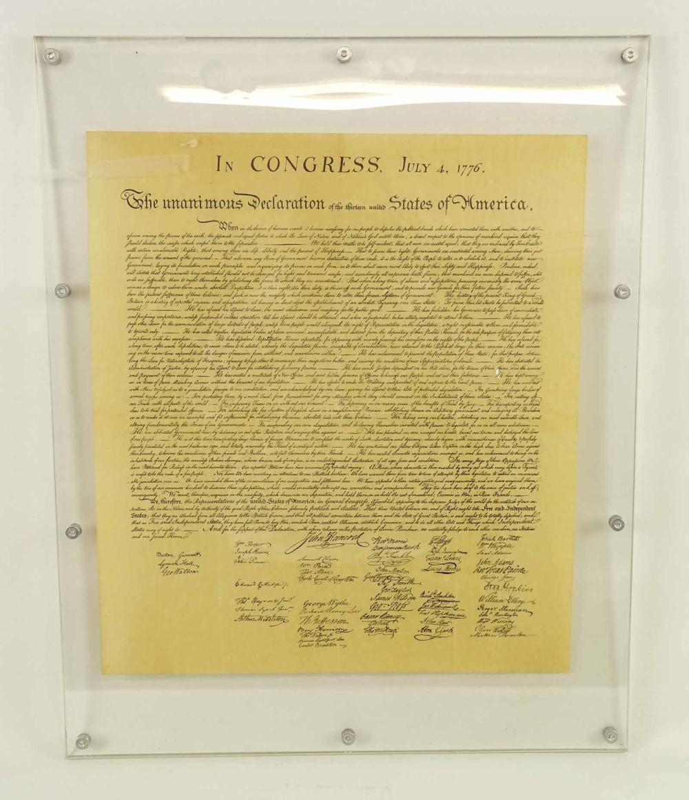 Copy Of The Declaration Of Independence