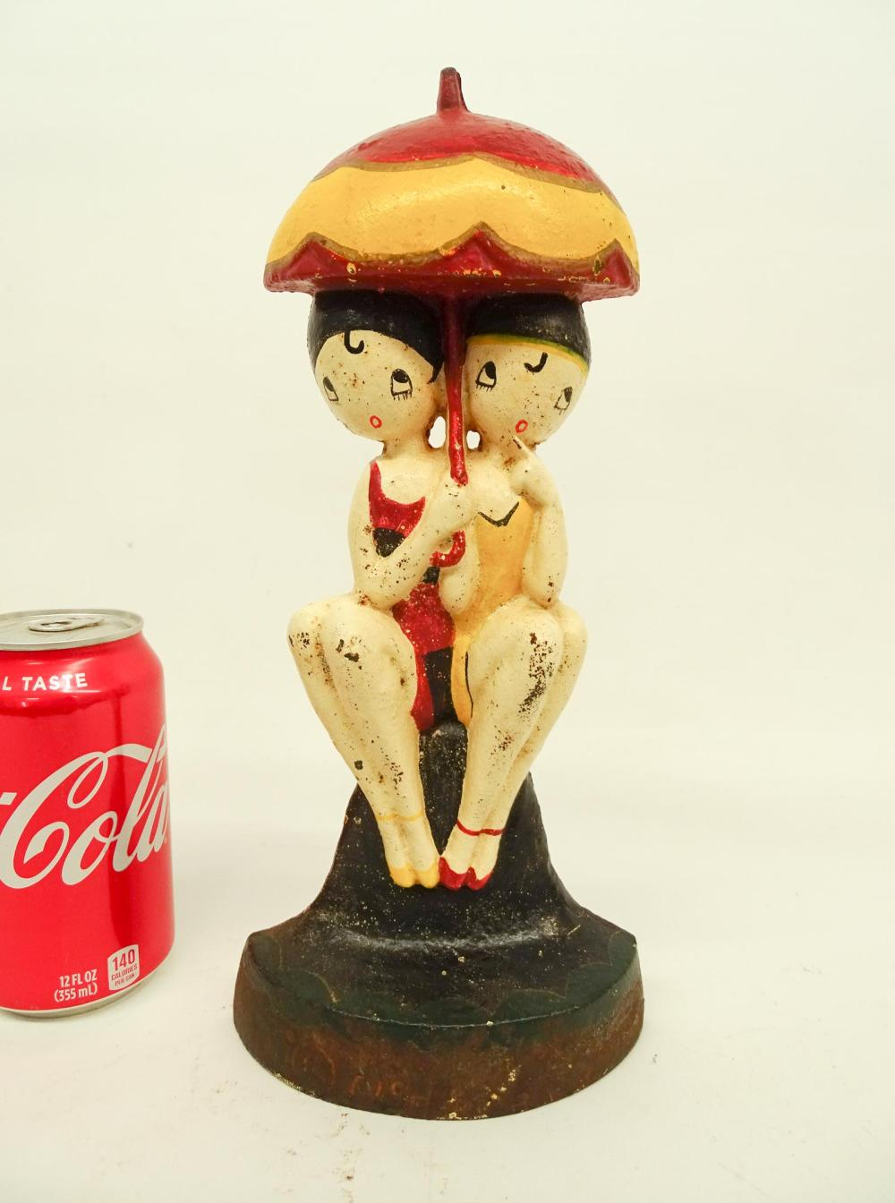 Hubley Bathing Beauties Doorstop