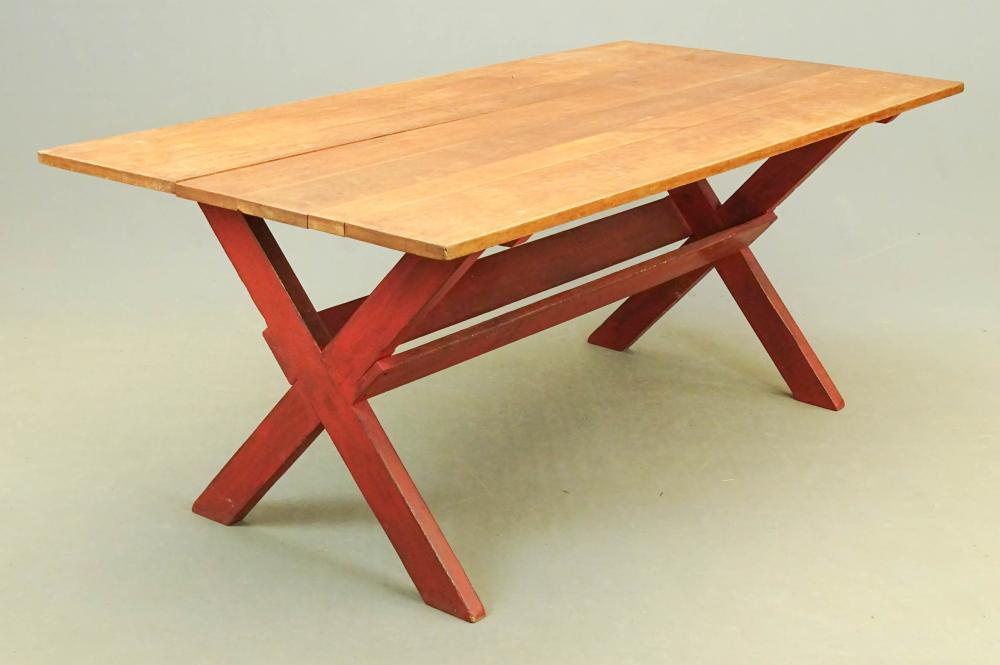 Sawbuck Table