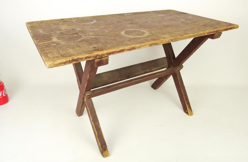 Child's Size Sawbuck Table