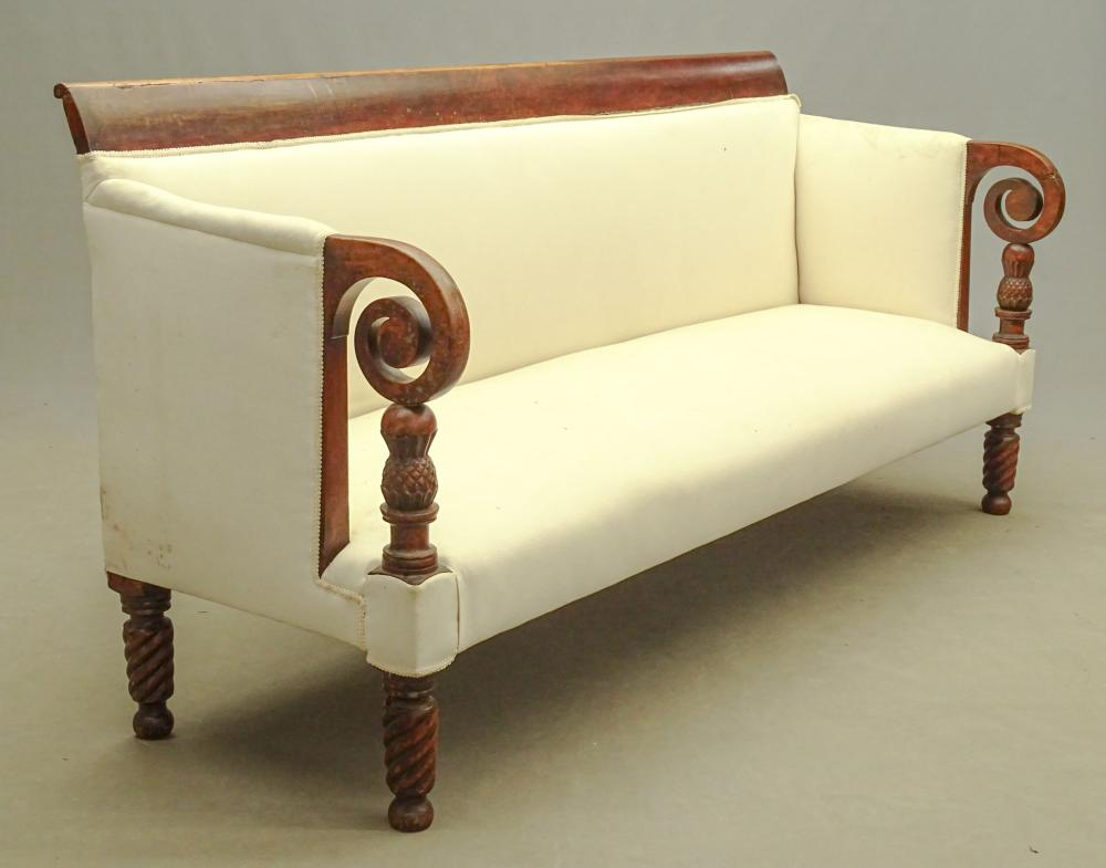 19th c. Empire Sofa