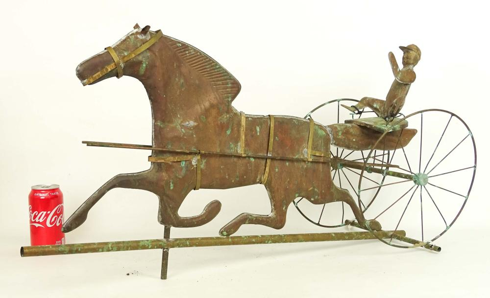 Horse And Jockey Weathervane