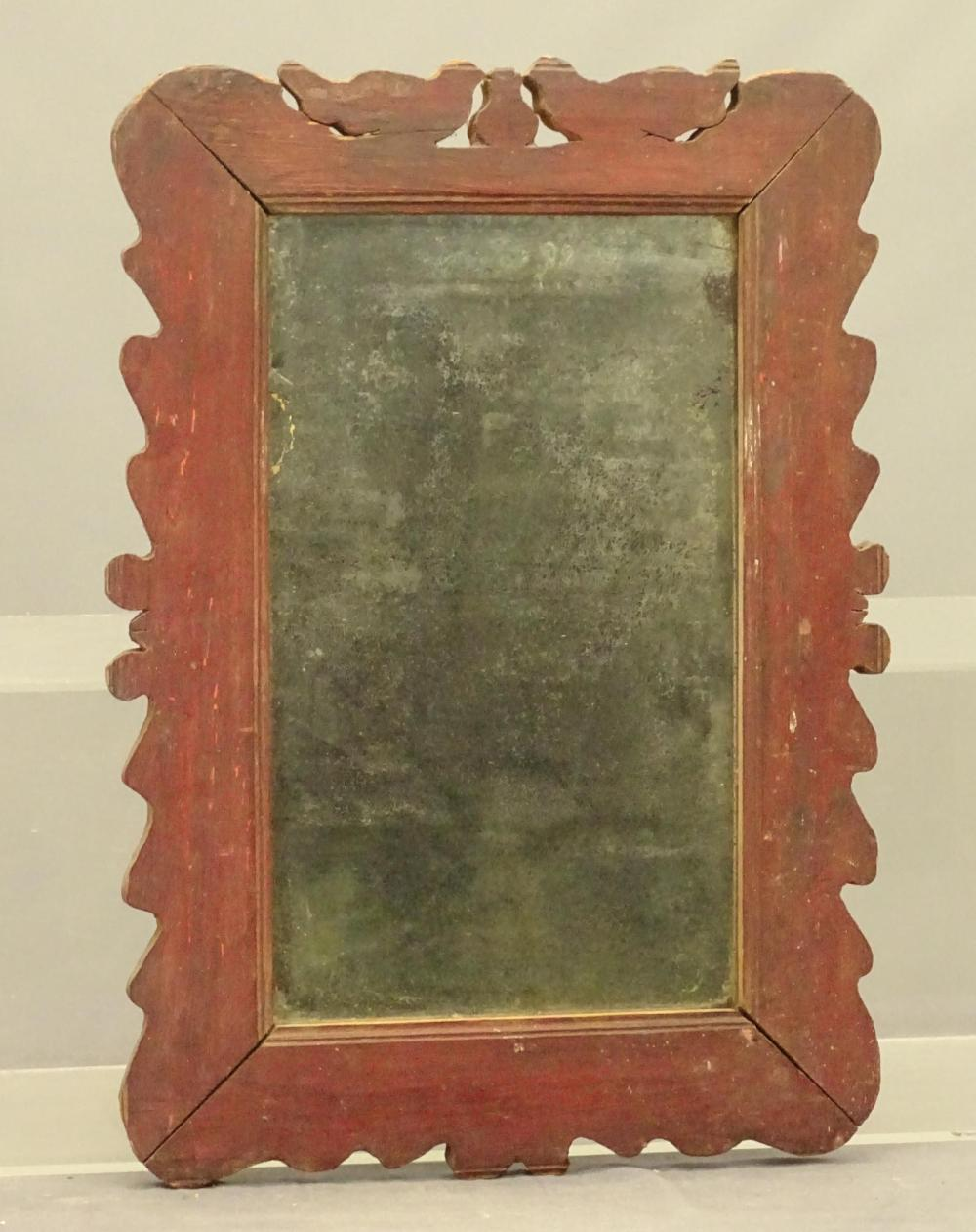 Early Painted Mirror