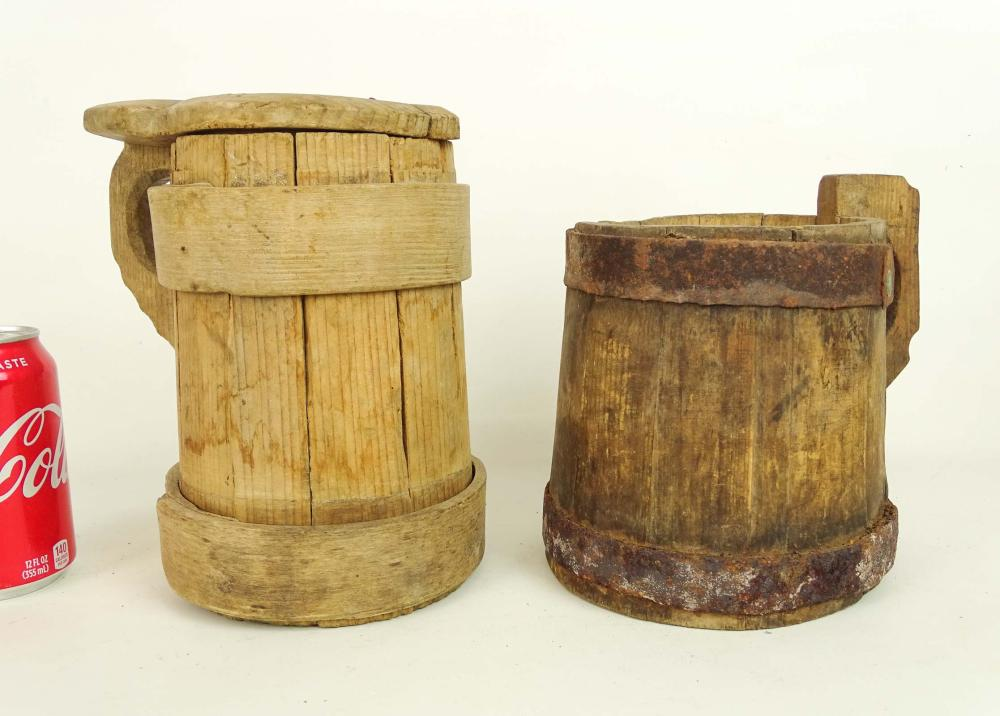 Wooden Tankards