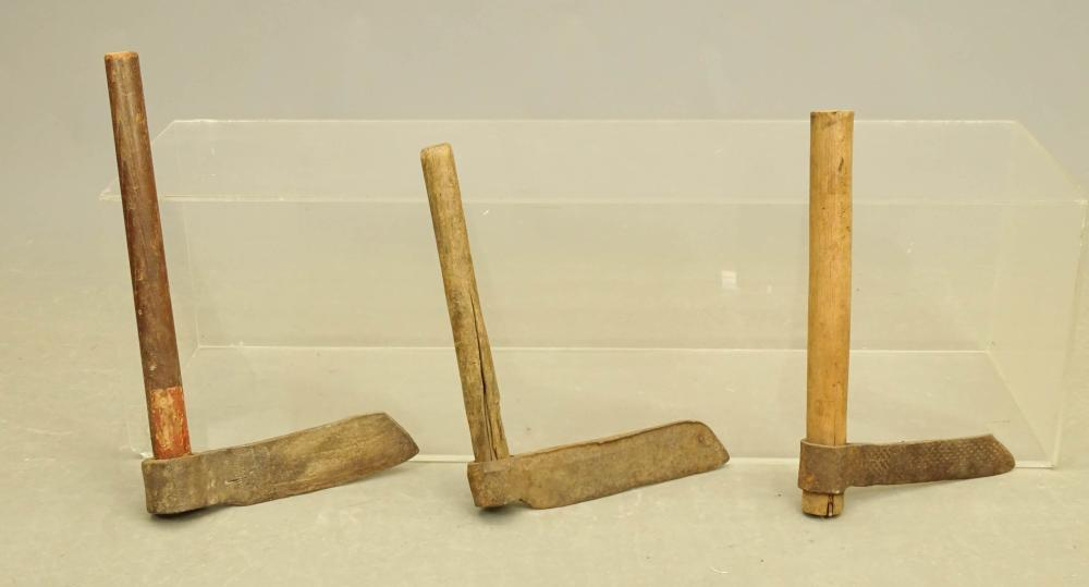 Iron And Wood Tobacco Cutters