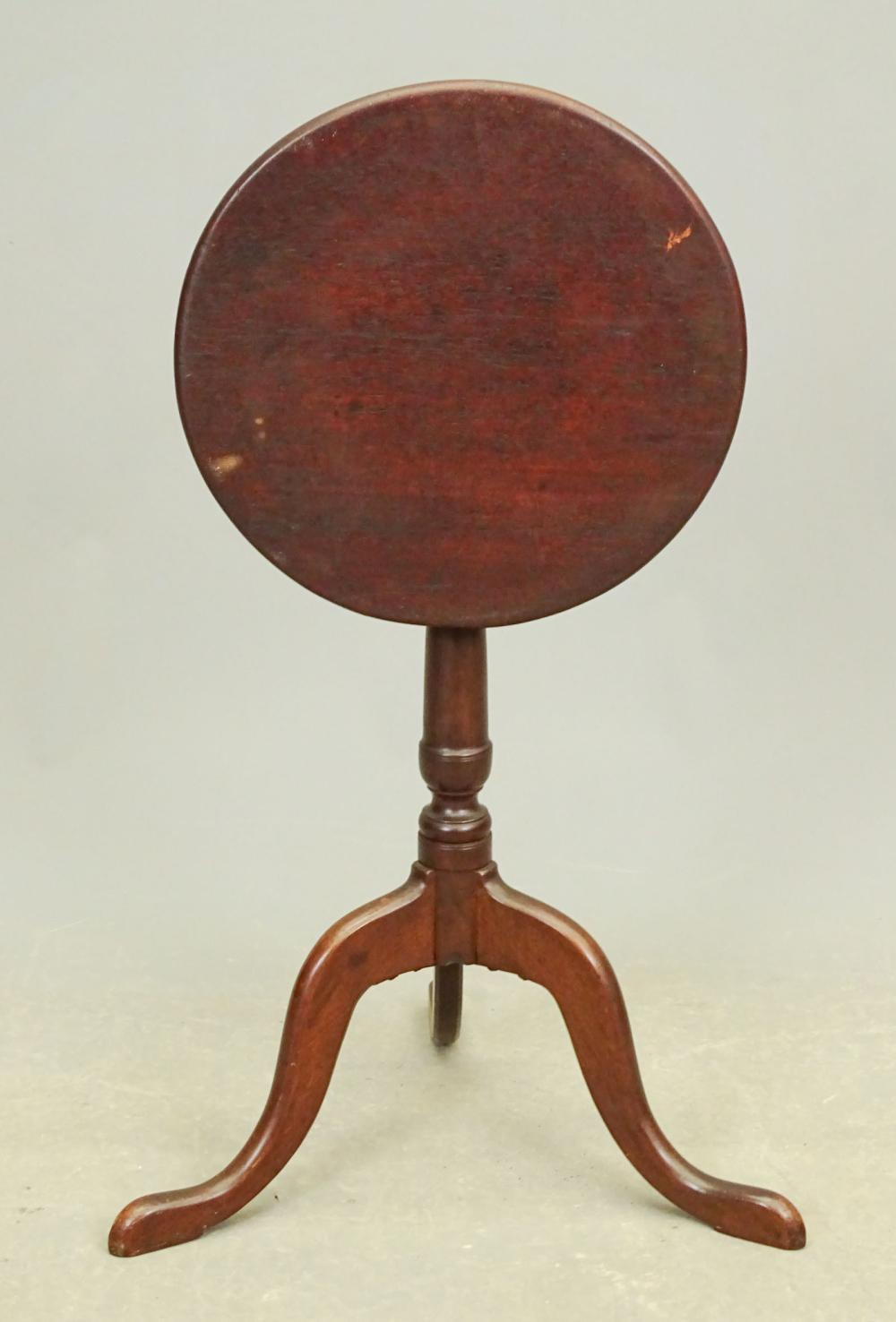 18th c. Tilt Top Candlestand