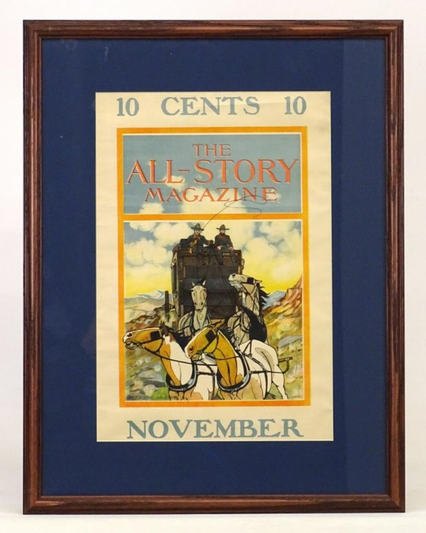 C. 1920's Western Advertising Poster