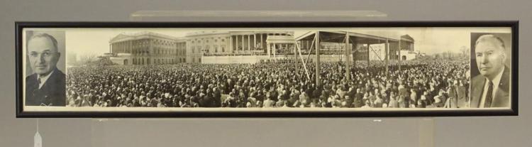 Harry Truman Yard Long Photograph